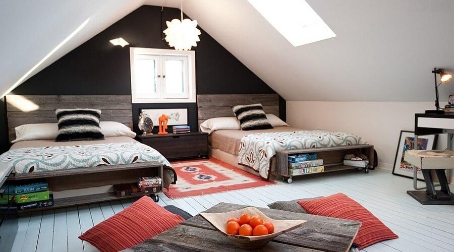 Arredare una mansarda come sfruttare lo spazio più romantico della casa